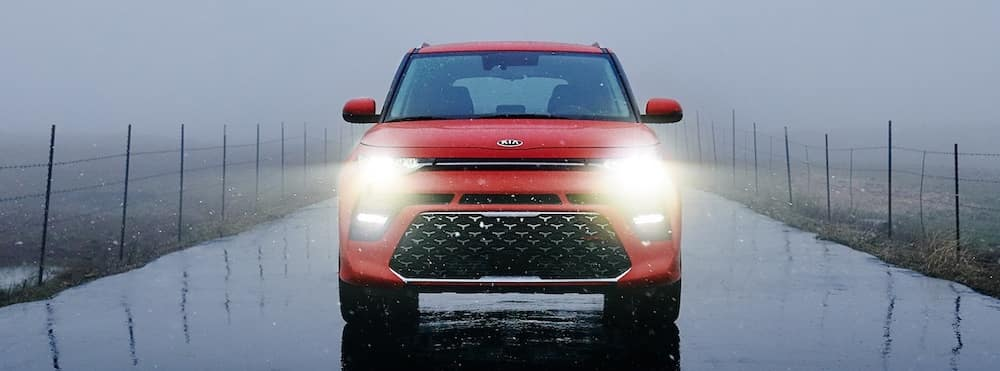 2020 Kia Soul headlights