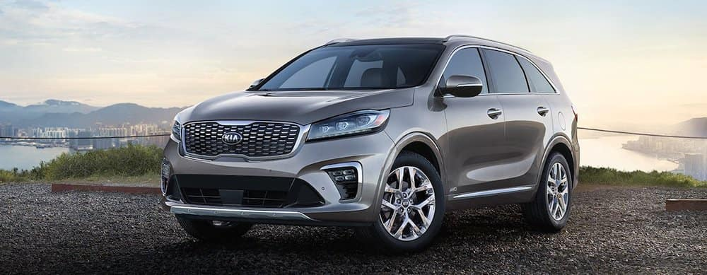 2019 kia sorento in gray