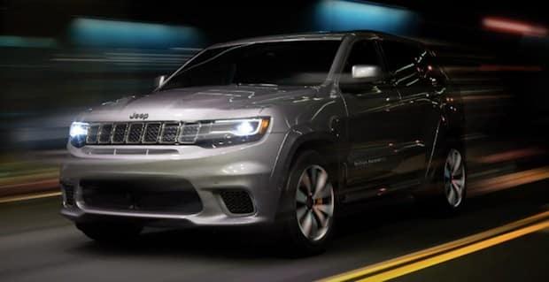 2018 Jeep Grand Cherokee Trackhawk 1 Most Powerful Suv