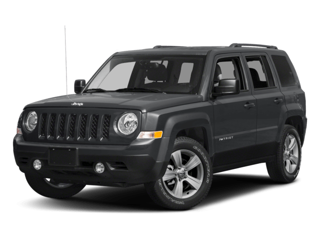 Jeep Patriot Angled
