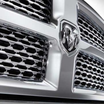 2018 Ram 2500 front grill detail