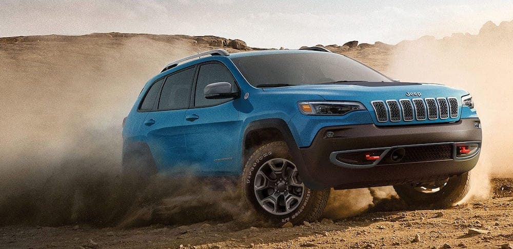 2019 Jeep Cherokee Trailhawk off-road