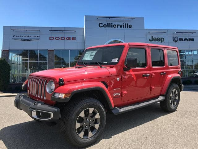 New 2018 Jeep Wrangler Unlimited JL