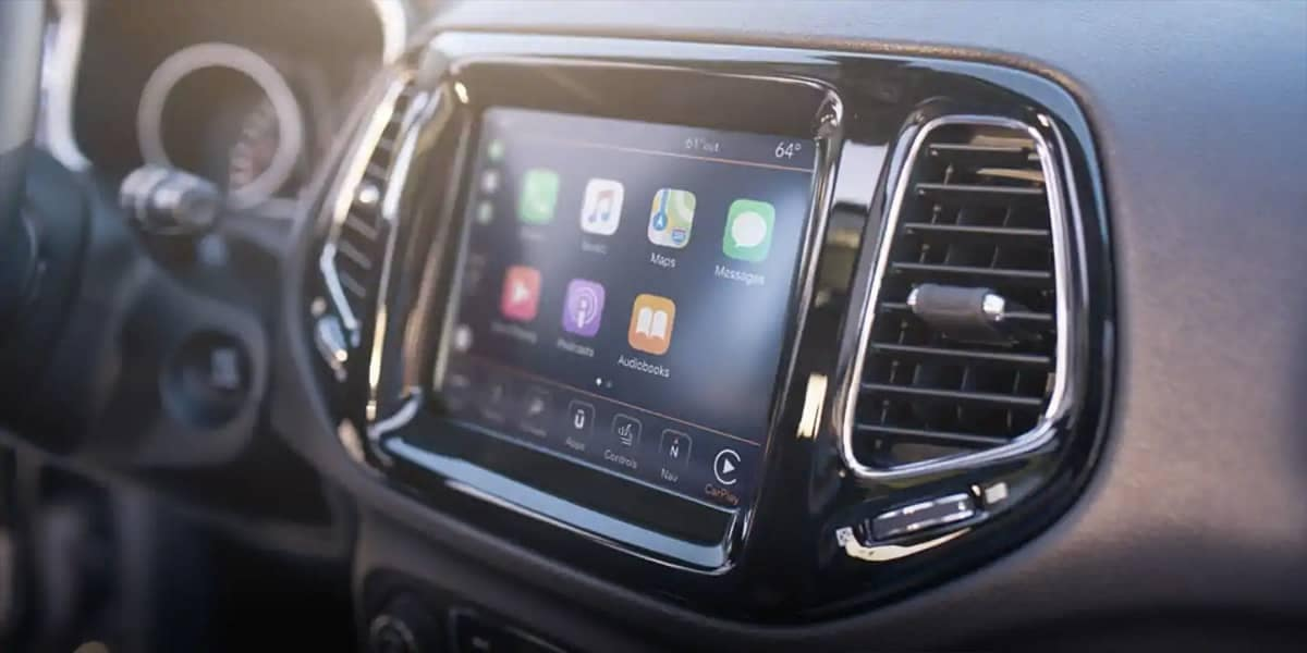 2019 Jeep Compass Display Screen