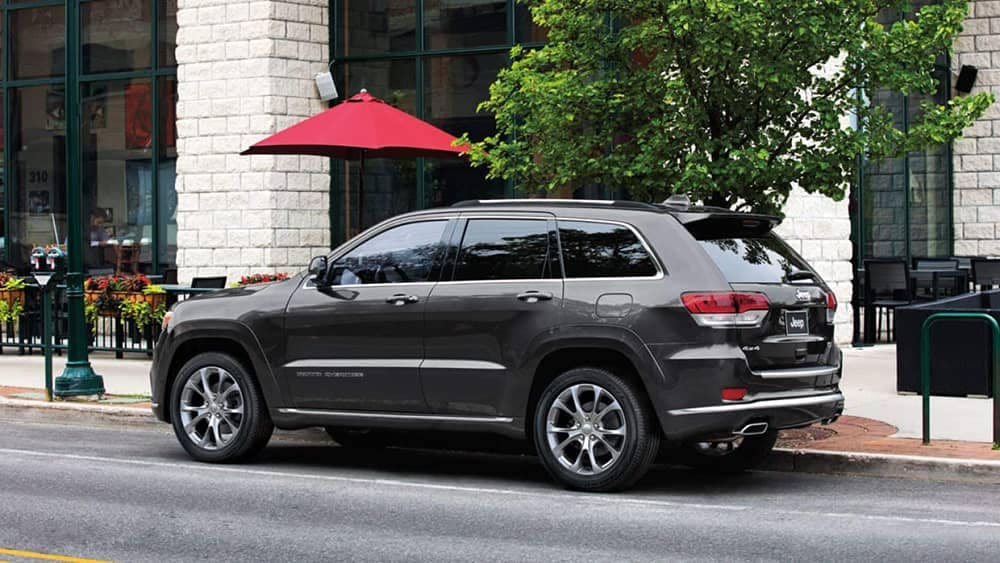2019 Jeep Grand Cherokee Parked Curbside