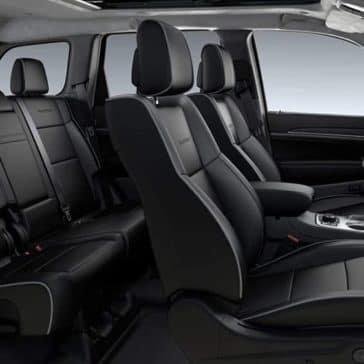 2019 Jeep Grand Cherokee Interior Seating