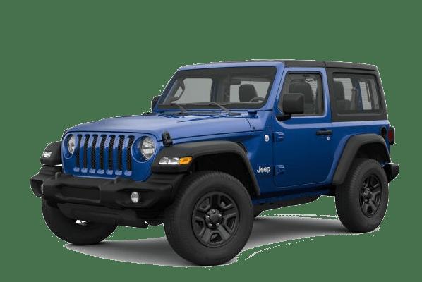 2019 Jeep Wrangler Blue