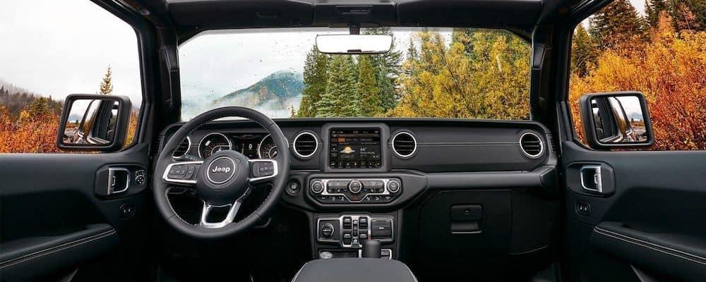 2019 wrangler front interior