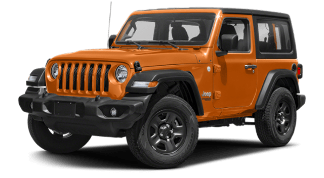 2019 Jeep Wrangler Orange