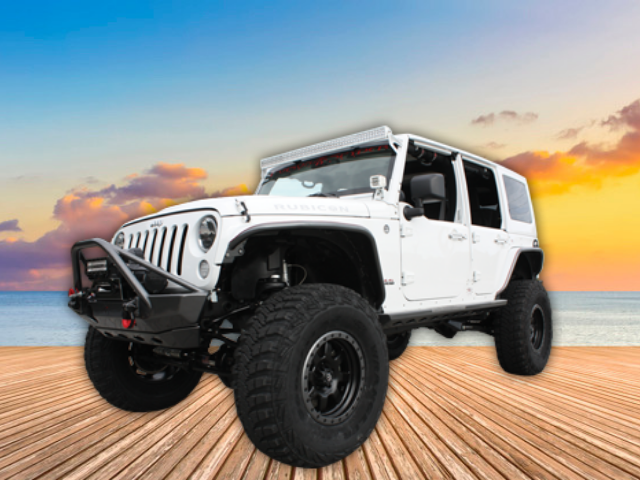 New 2018 Custom Jeep Wrangler Unlimited