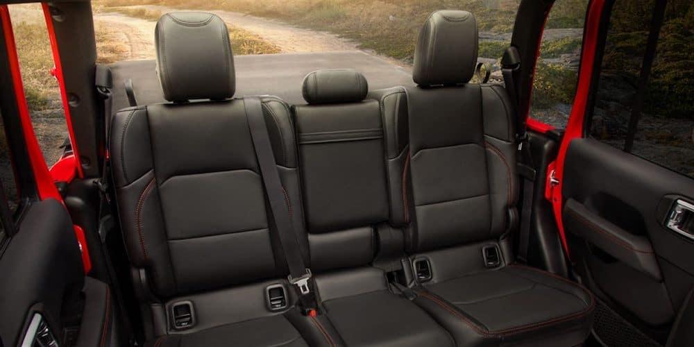 2020 Jeep Gladiator Rear Interior