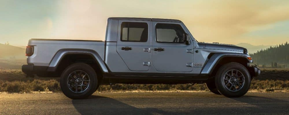 2020 Jeep Gladiator Parked on Road