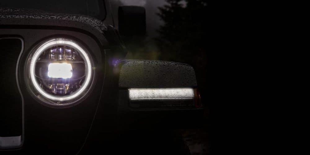 2019 Jeep Wrangler LED Headlights
