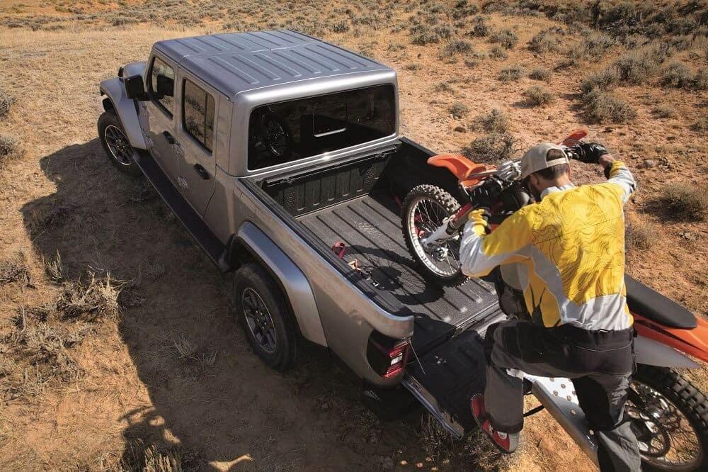2020 Jeep Gladiator Storage
