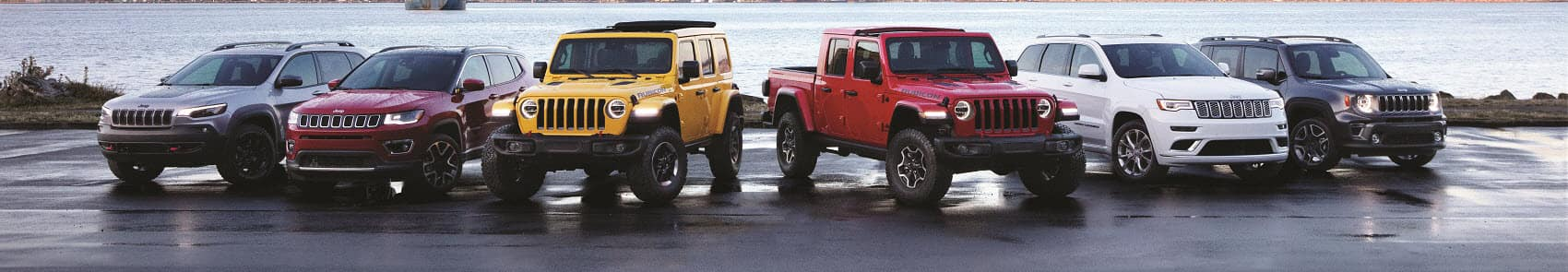 Jeep Line Up