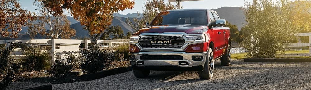 Ram 1500 Parked