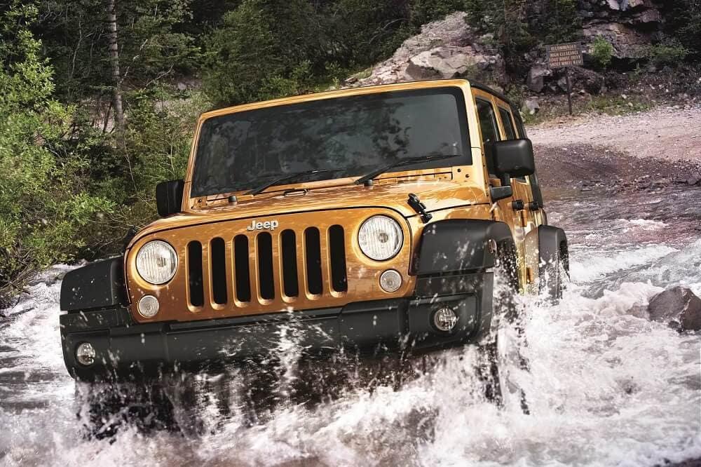Jeep Wrangler Off-Roading