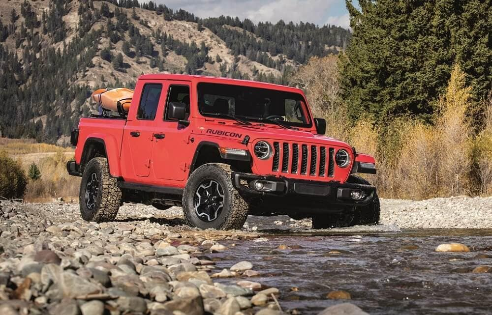 Jeep Gladiator Off-Roading