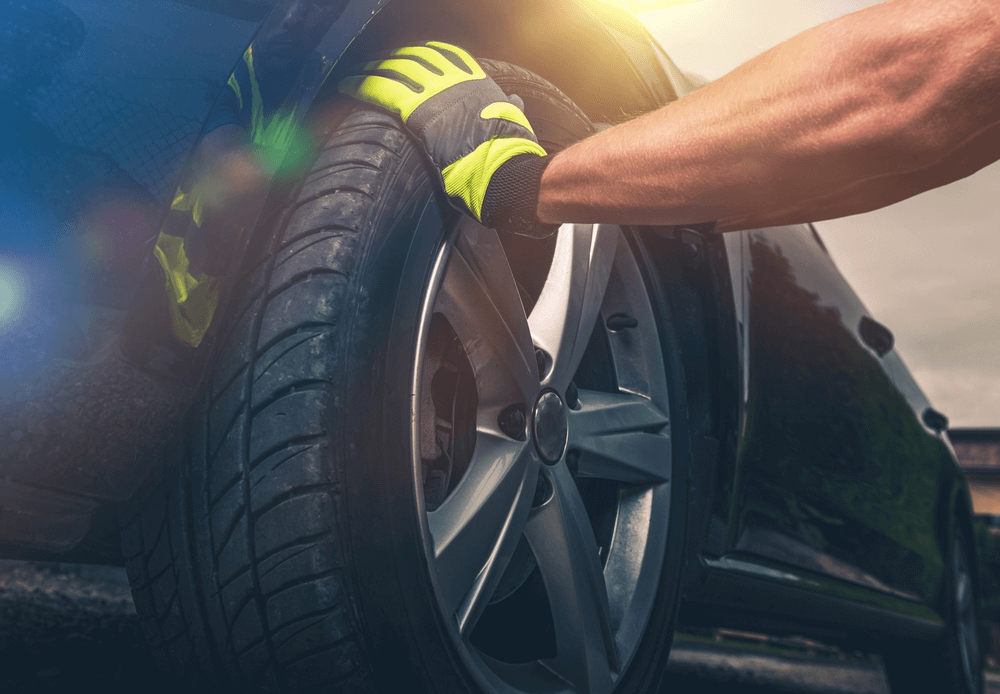Examining Vehicle Tires
