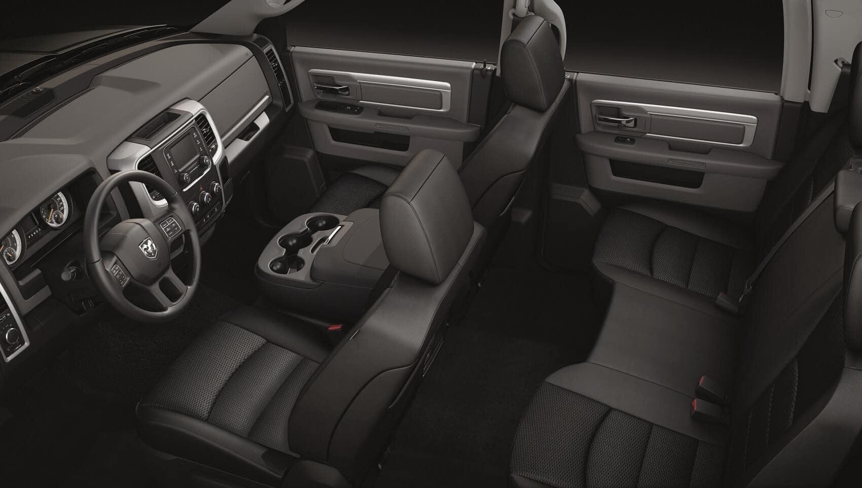 RAM 1500 Interior Space