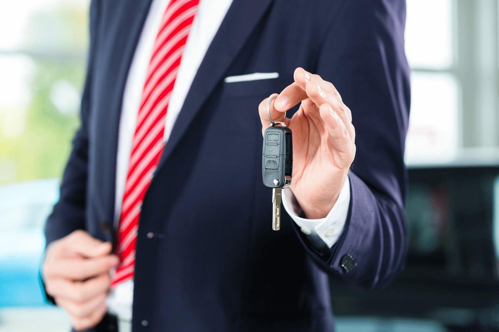 Holding Up Trucks Keys