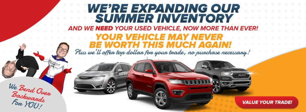 Get $500 over Kelley Blue Book® Trade-In Value