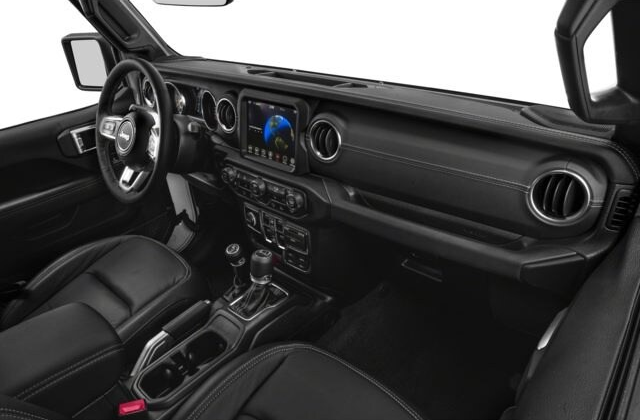 Jeep Gladiator Interior Technology