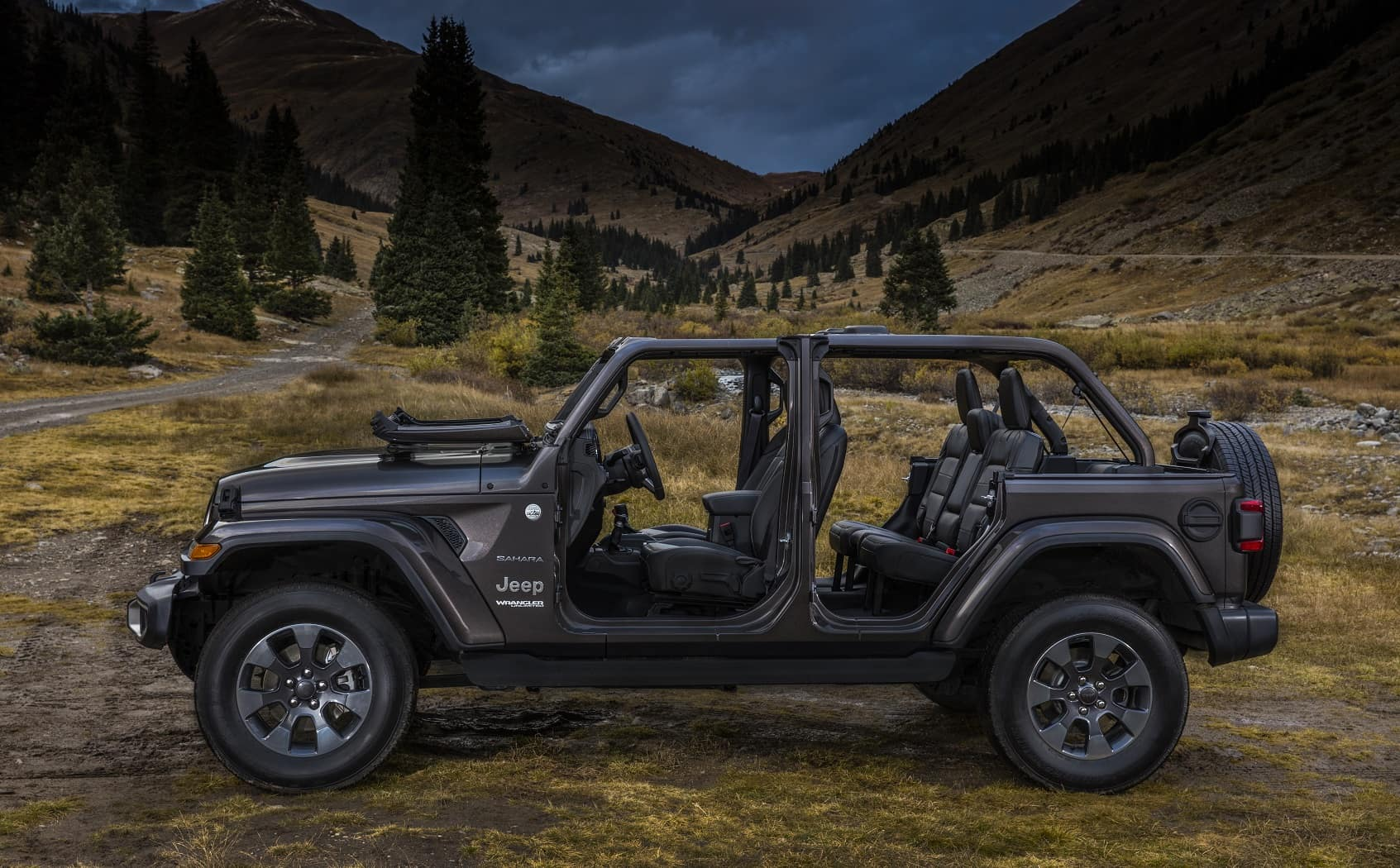 Jeep Wrangler Interior Space