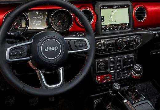 Jeep Wrangler Interior Technology