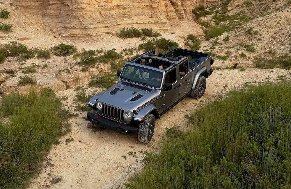 Jeep Gladiator Off-Roading