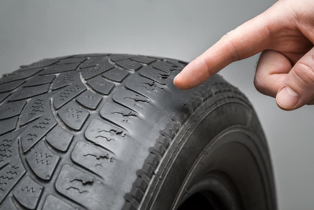Uneven Worn Out Tire near Memphis TN