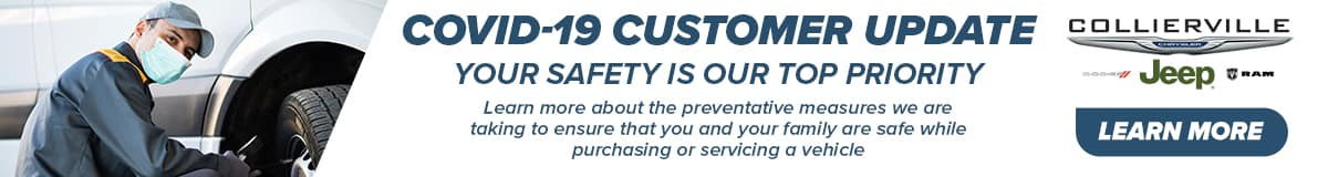 Covid-19, Your Safety is our Priority