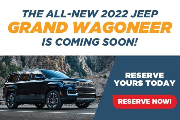 All-New 2022 Jeep Grand Wagoneer