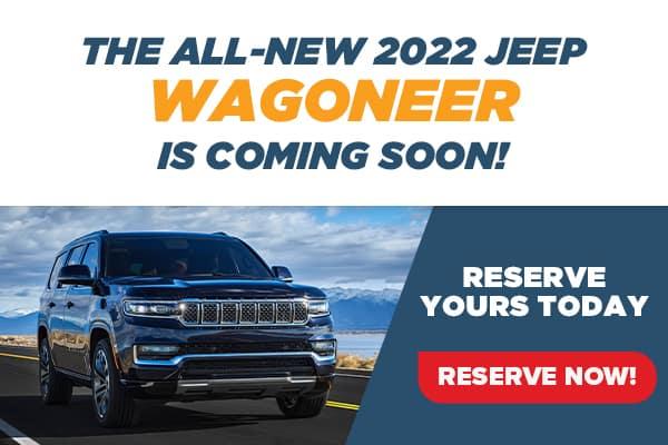 All-New 2022 Jeep Wagoneer