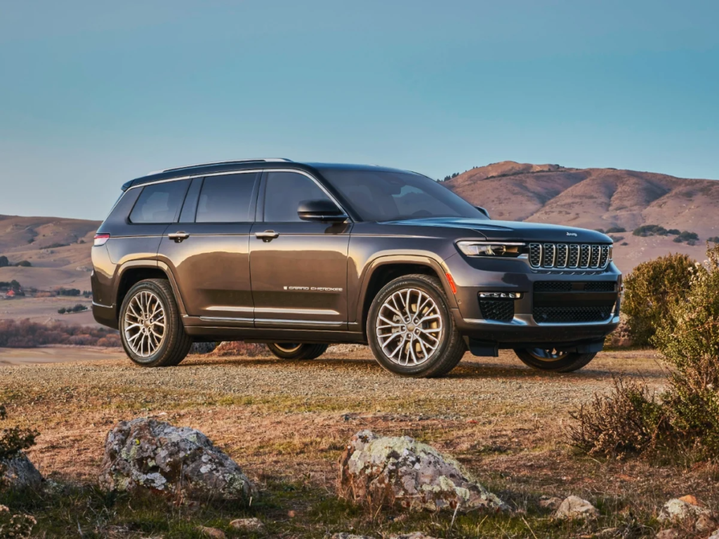 The Grand Cherokee L arrives this month reserve yours today!