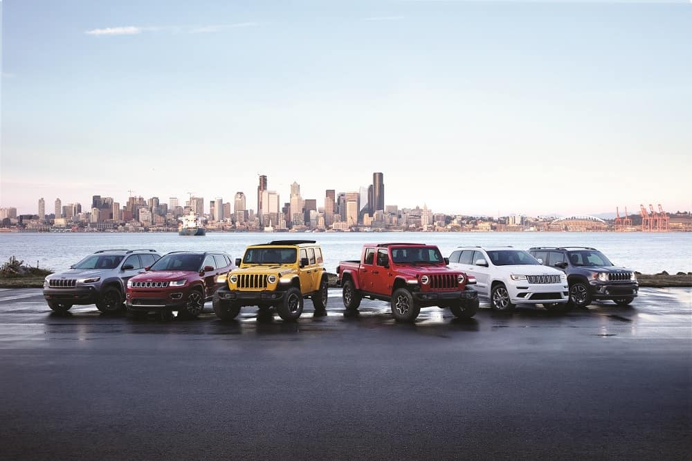Jeep Line Up