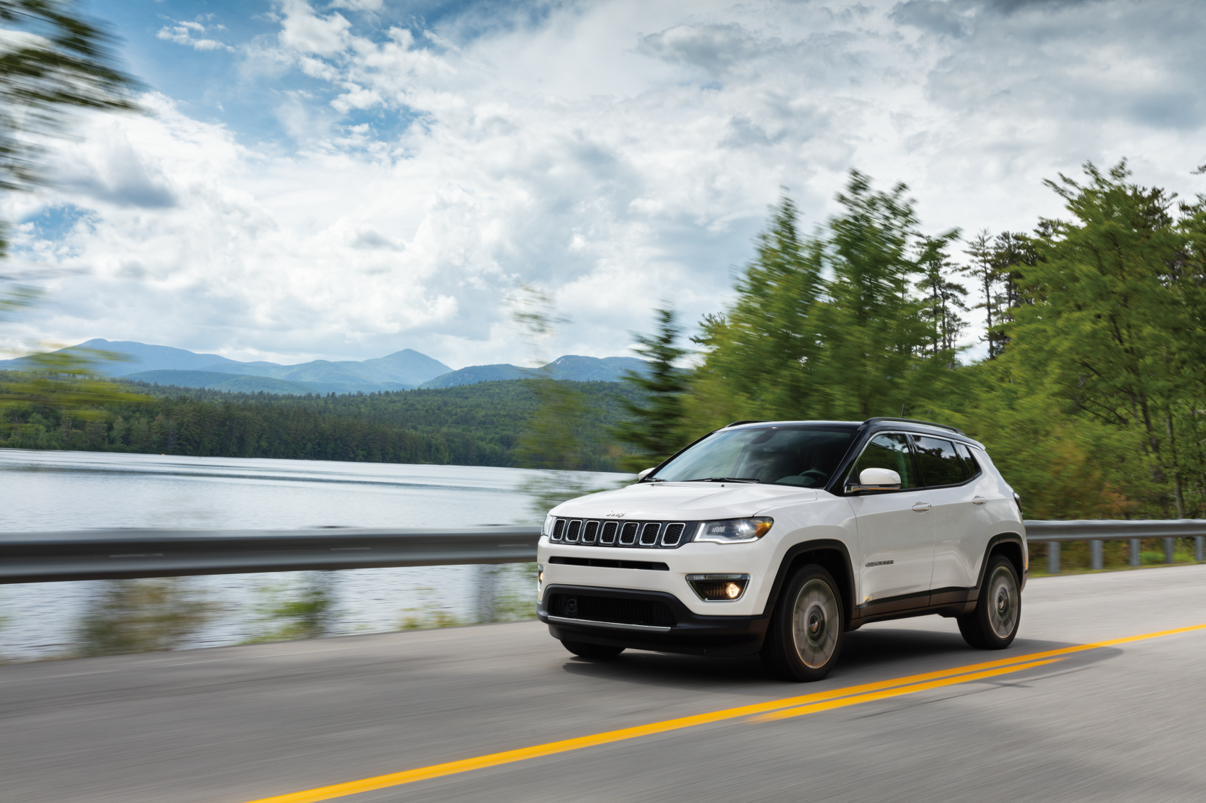 2021 Jeep Compass White Mountain Road
