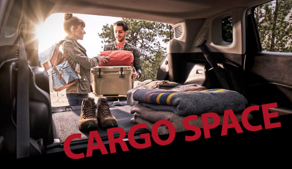 Chrysler, Jeep, Ram and Dodge Cargo Space and Storage