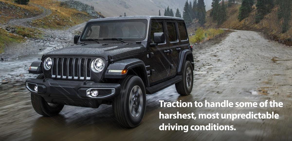 Jeep Off-Road Mud & Rain Capabilities | Chicago