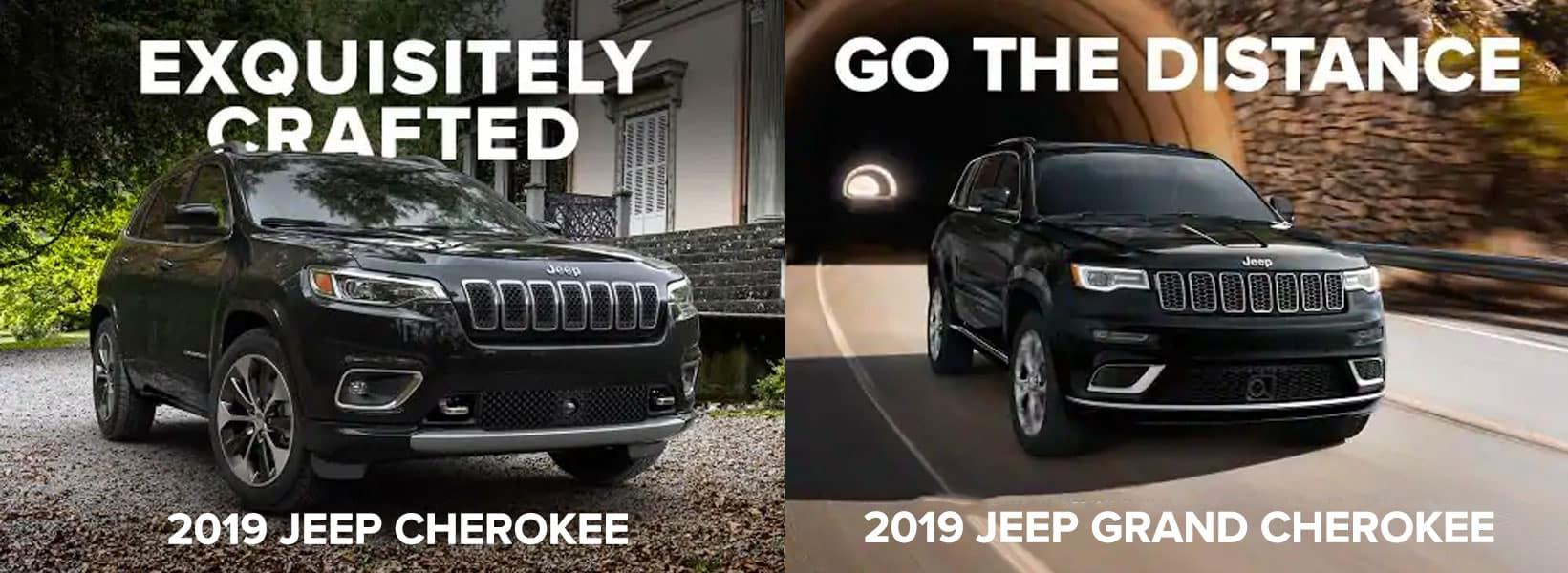 2019 Jeep Cherokee vs 2019 Jeep Grand Cherokee, Chicago IL