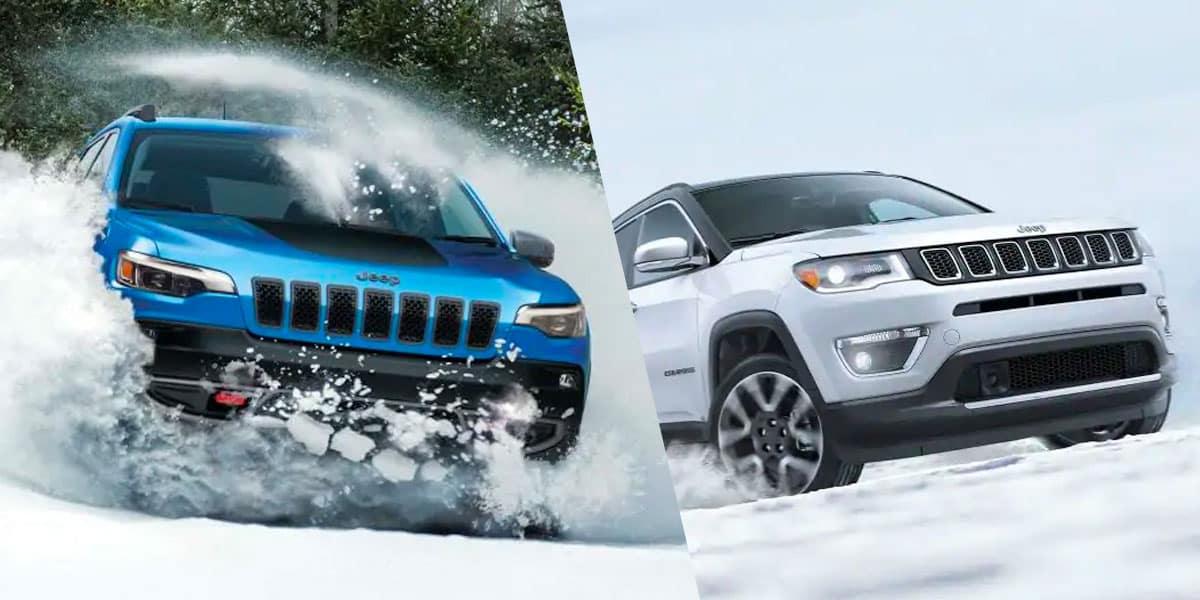 2019 Jeep Cherokee vs 2019 Jeep Compass