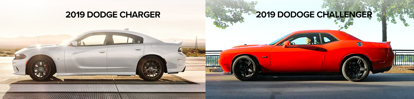 Dodge Challenger vs Dodge Charger Similarities Chicago IL