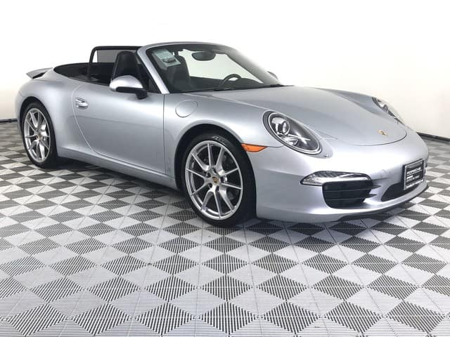 Porsche Certified C2 Cabriolet Lease Special