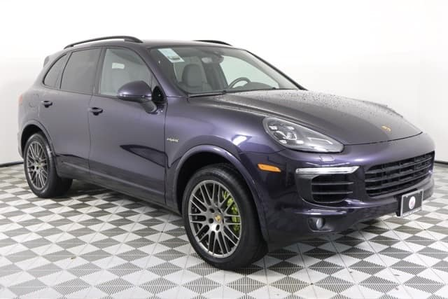 2017 Certified Cayenne S E-Hybrid Lease Special