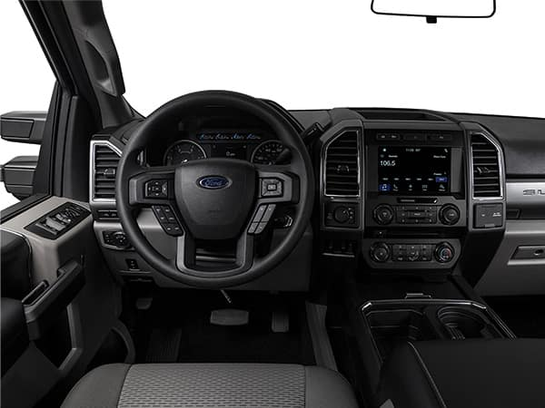 Ford F-250 Interior Side View