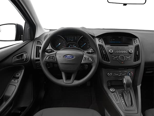 Ford Focus Interior Drivers View