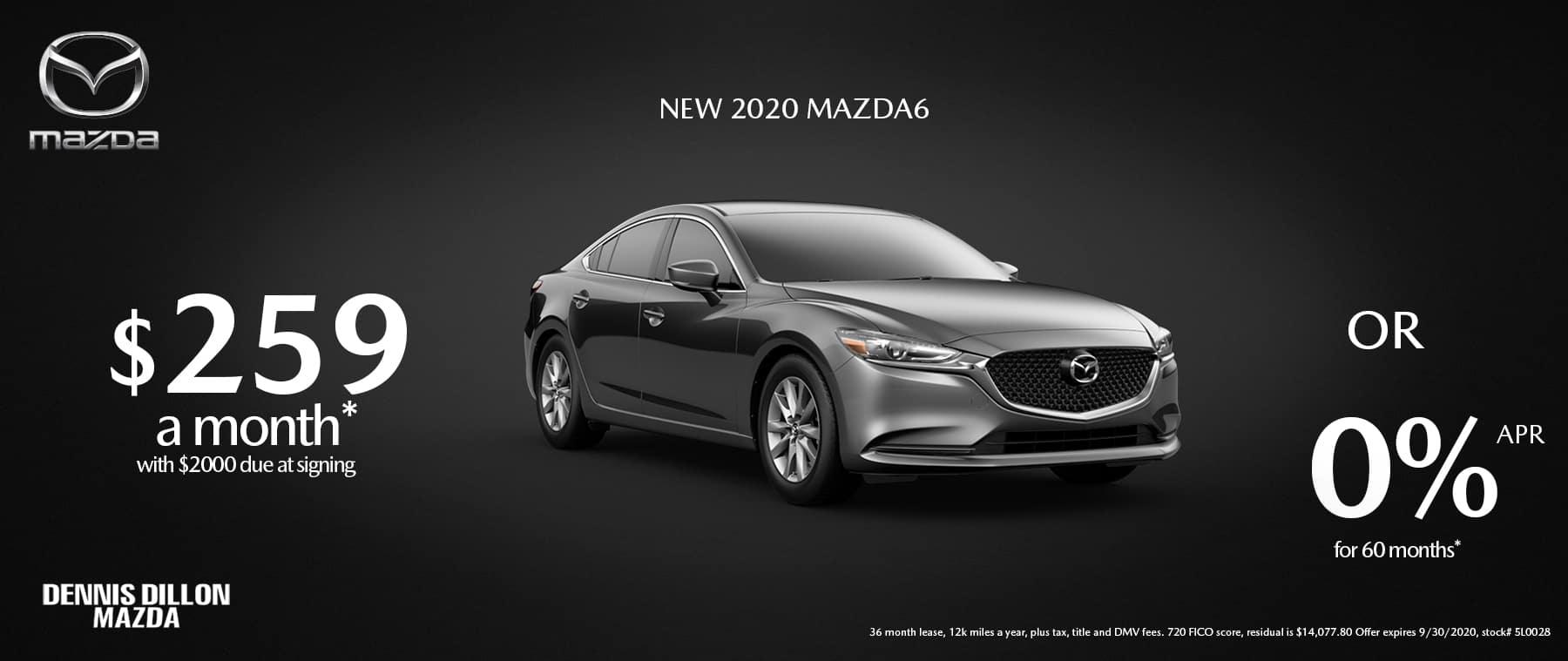 Mazda6 SEPT 2020