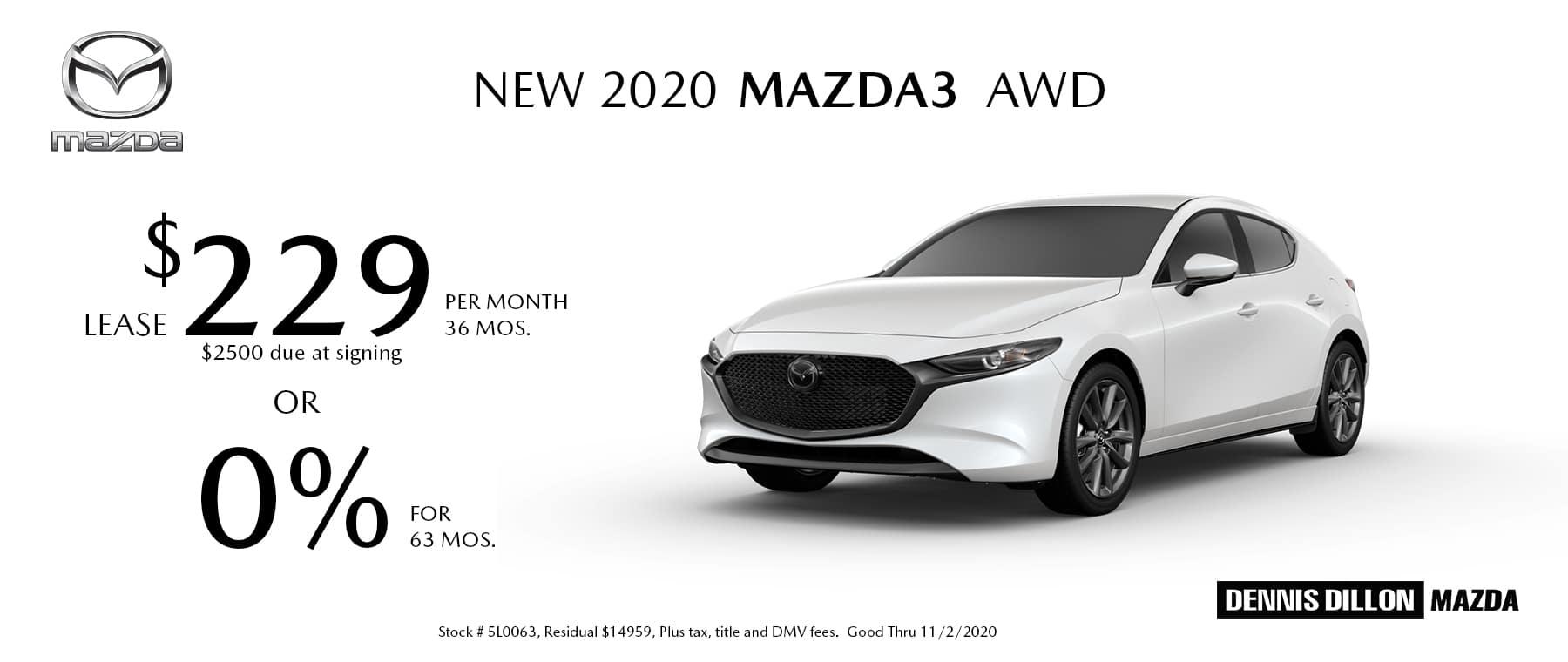 Mazda3 10-2020