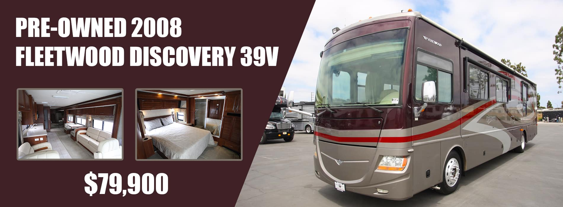 PRE-OWNED 2008 FLEETWOOD DISCOVERY 39V 11 2020