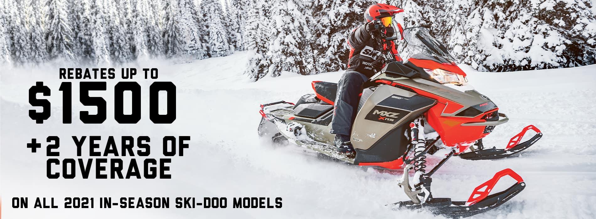 Ski-Doo YELLOW TAG SALES EVENT 11-2020